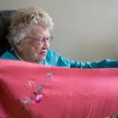 Iris Westman at the age of 111.