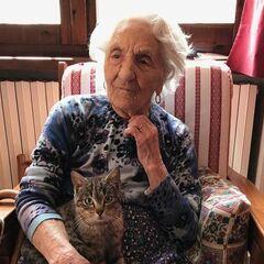 Erminia Bianchini at 110