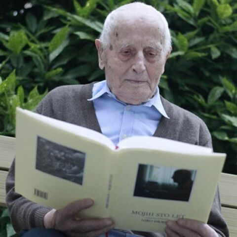 Niko Dragos at the age of 108.