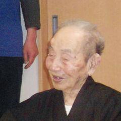 Yasutaro Koide at age 110.