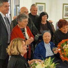 Lucile Randon at age 108.