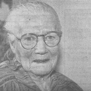 Geertje Roelinga at age 106.