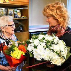 Gadyuchkina on her 110th birthday.