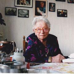Hendrikje at age 108.