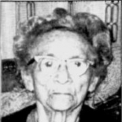 Marie-Louise Meilleur at age 106.