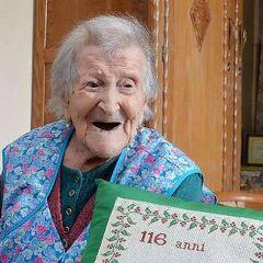 Emma Morano at age 116.