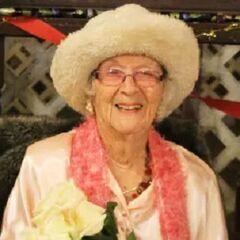 Edie Ceccarelli on 107th birthday.