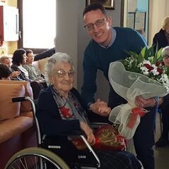 Branyas Morera on her 110th birthday