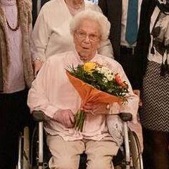 Anna Kupper at 110