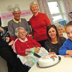 Hilda Clulow at 108.