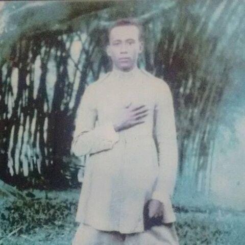 Olimpio Martins Pires at age 24.