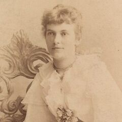 Augusta Holtz as a young woman