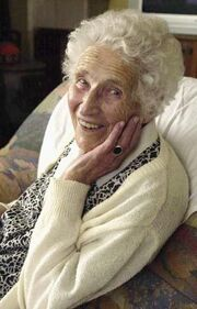 Anna Ringier-Kieser 12.04.1896 - 03.09.2006 (110 years and 144 days) 8