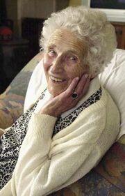 Anna Ringier-Kieser 12.04.1896 - 03.09.2006 (110 years and 144 days) 8
