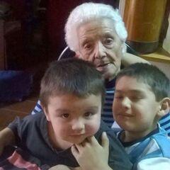 Aurora on her 107th birthday.