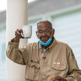 Lawrence Brooks at the age of 111