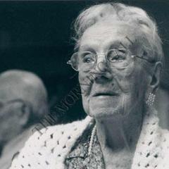 Sarah Knauss at age 114.