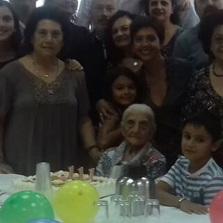 Josefa Santos Gonzalez on her 111th birthday.
