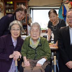 Matsushita at age 112