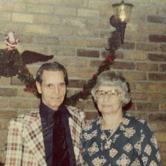 Elsie Martin with her husband Arthur.