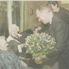 Catharina van Dam-Groeneveld at age 109.