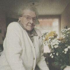 Catharina van Dam-Groeneveld at age 111.