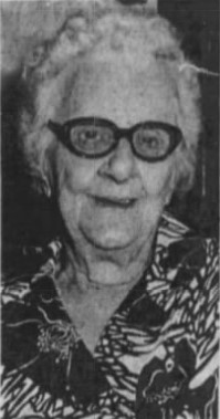 Maxine Ashinger 1876-1986 95th birthday