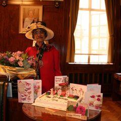 Irene Sinclair on her 109th birthday