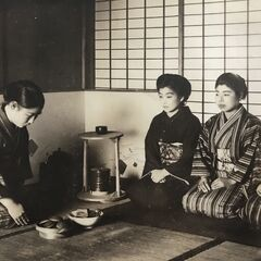 Nakachi (leftmost) when she received a