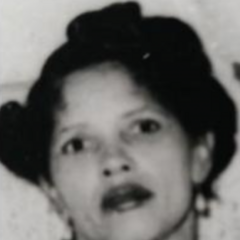 Irene Sinclair at age 50