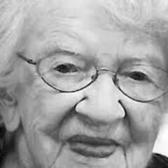 Iris Westman at the age of 109.