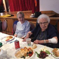 Lucy Mirigian on her 111th birthday.