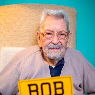 Bob Weighton in February 2020, aged 111.