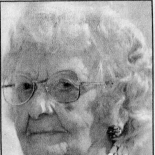 Mary Parr at age 104.