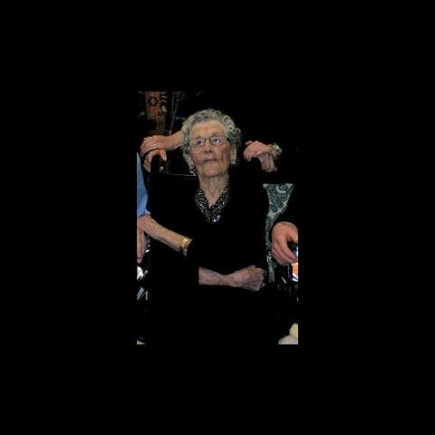 Dolly on her 110th birthday