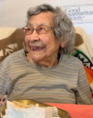 Julia Kabance 109th birthday