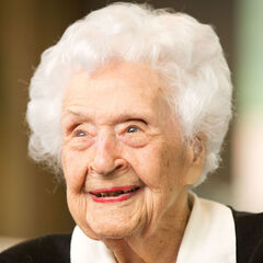 Thelma Sutcliffe at the age of 110