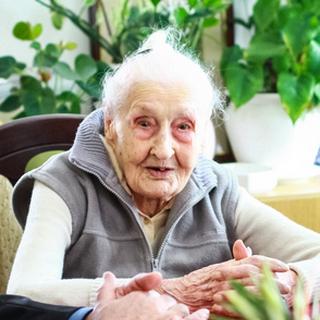 Veronika Zsilinszki at age 111.