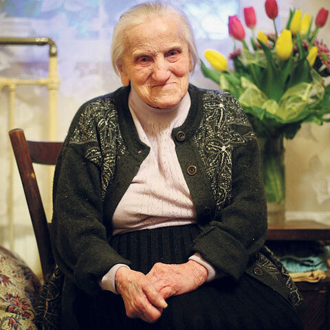Józefa Stanisława Szyda at age 107
