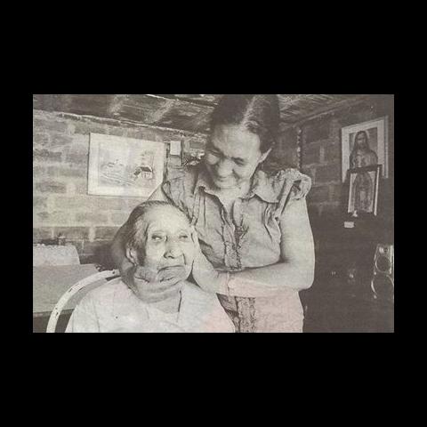 Jaramillo at the age of 107.
