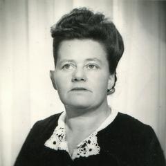 Gabrielle in 1943.