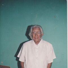 Cedeno Tello on her 99th birthday.