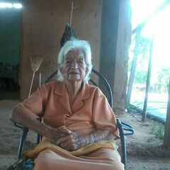 Angelica Ordonez Colondro at 105.