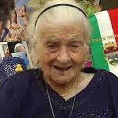 Maria Giuseppa Robucci at the age of 116.