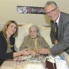 Bessie Camm at 112.