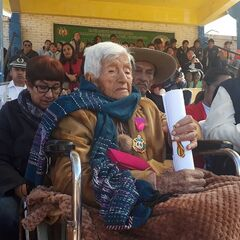 Angelica Ordonez Colondro at 109.