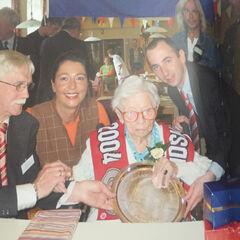 Hendrikje on her 114th birthday.