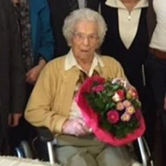 Anna Kupper at 107