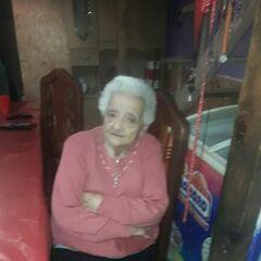 Aurora on her 111th birthday.
