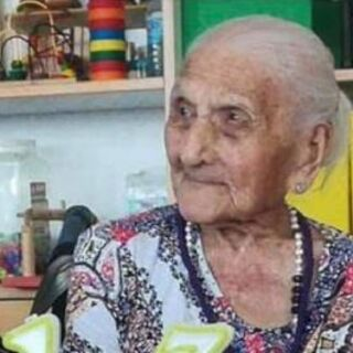 Josefa Santos Gonzalez on her 113th birthday.